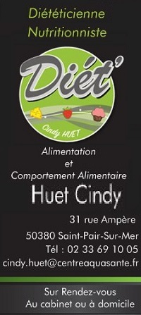 Cindy Huet - Dététicienne Nutritionniste